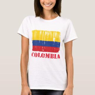 Camiseta Bandeira de Colômbia