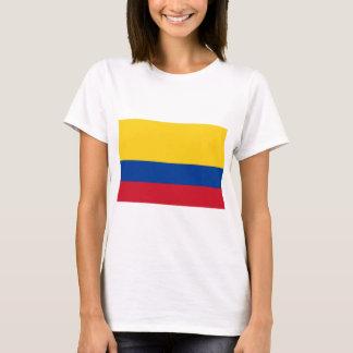 Camiseta Bandeira de Colômbia - bandera de Colômbia