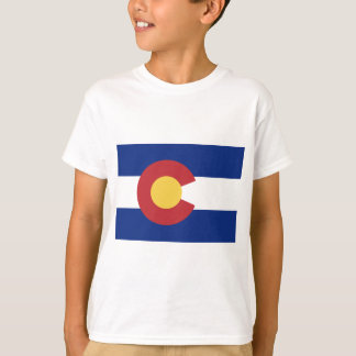 Camiseta Bandeira de Colorado