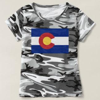 Camiseta Bandeira de Colorado, bandeira de Coloradan
