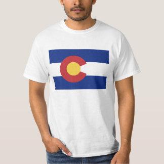 Camiseta Bandeira de Colorado - bandeira de Coloradan