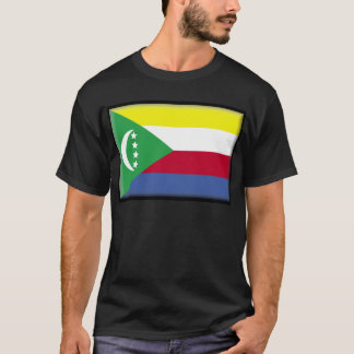 Camiseta Bandeira de Cômoros
