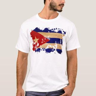 Camiseta Bandeira de Cuba