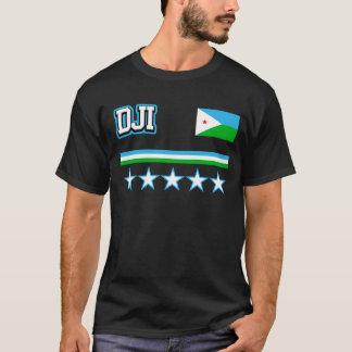 Camiseta Bandeira de Djibouti