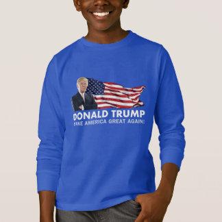 Camiseta Bandeira de Donald Trump E.U.