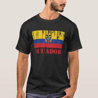 Camiseta Bandeira de Equador