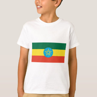 Camiseta Bandeira de Etiópia