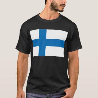 Camiseta Bandeira de Finlandia