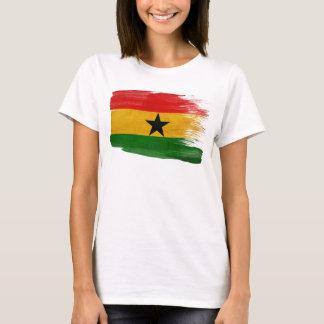 Camiseta Bandeira de Ghana