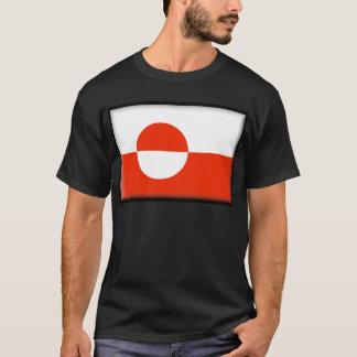Camiseta Bandeira de Greenland