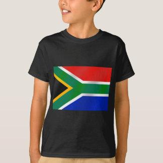 Camiseta Bandeira de ideias do presente de África do Sul