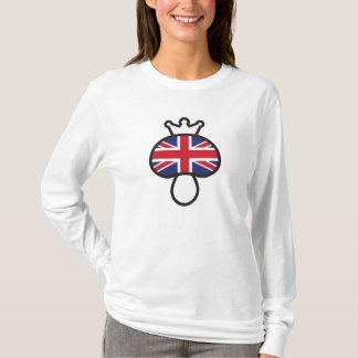Camiseta Bandeira de Ingleses do cogumelo