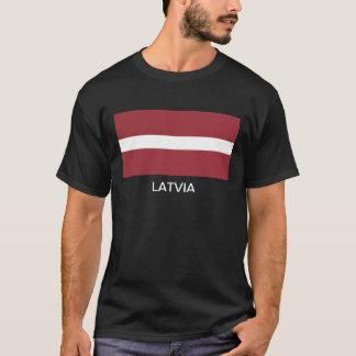 Camiseta Bandeira de Latvia