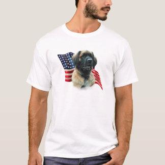 Camiseta Bandeira de Leonberger