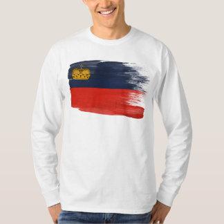 Camiseta Bandeira de Liechtenstein