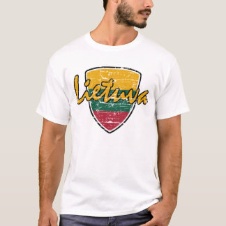 Camiseta Bandeira de Lietuva