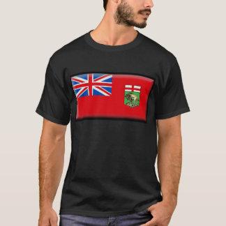 Camiseta Bandeira de Manitoba