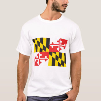 Camiseta Bandeira de Maryland