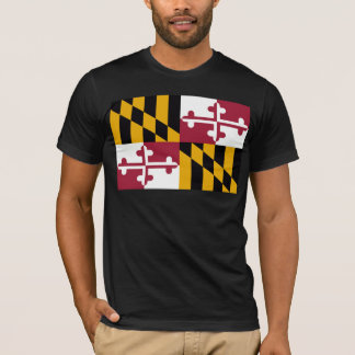 Camiseta Bandeira de Maryland