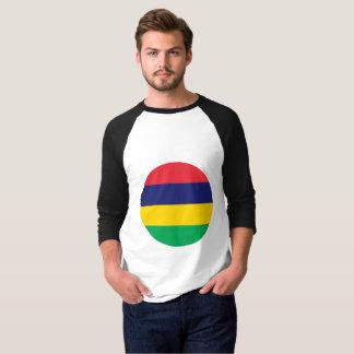Camiseta Bandeira de Maurícia