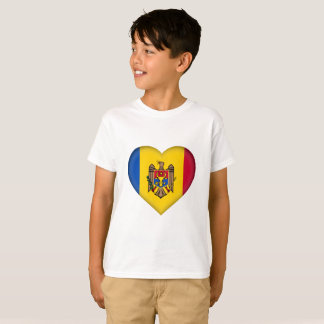 Camiseta Bandeira de Moldova