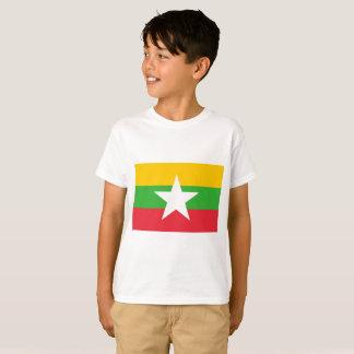 Camiseta Bandeira de Myanmar