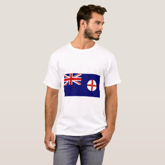 Camiseta Bandeira de Novo Gales do Sul Austrália