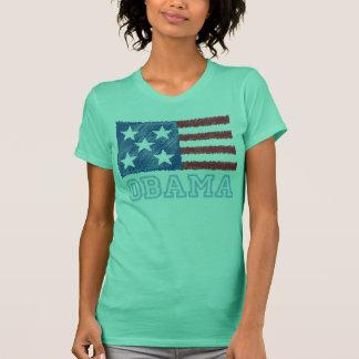 Camiseta Bandeira de OBAMA