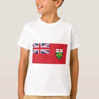 Camiseta Bandeira de Ontário