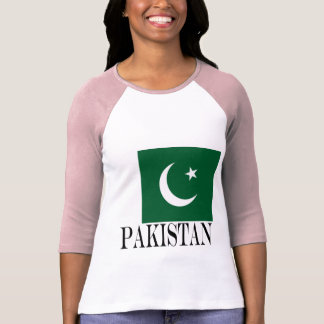 Camiseta Bandeira de Paquistão