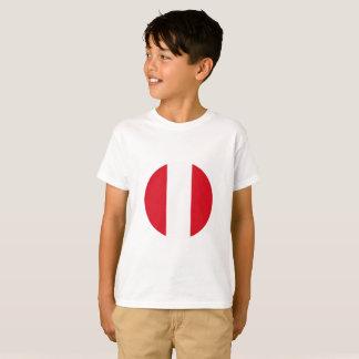 Camiseta Bandeira de Peru