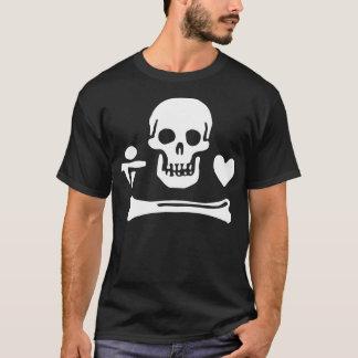 Camiseta Bandeira de pirata de Stede Bonnet