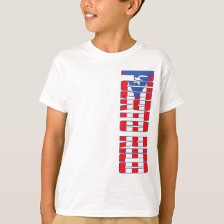 Camiseta Bandeira de Puerto Rico