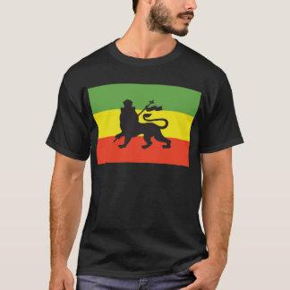 Camiseta Bandeira de Rastafarian