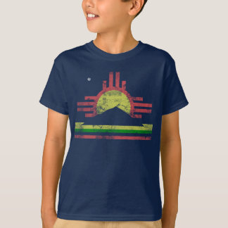 Camiseta Bandeira de Roswell New mexico