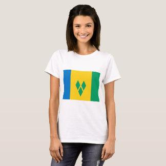 Camiseta Bandeira de São Vicente e Granadinas