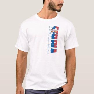 Camiseta Bandeira de Serbia