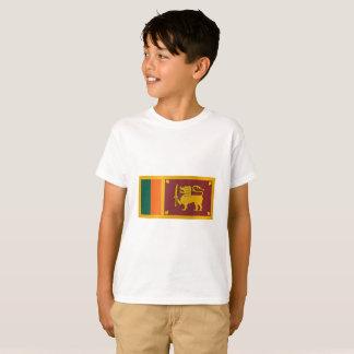 Camiseta Bandeira de Sri Lanka