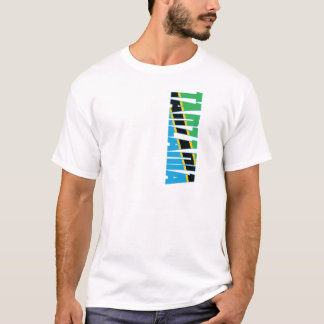 Camiseta Bandeira de Tanzânia