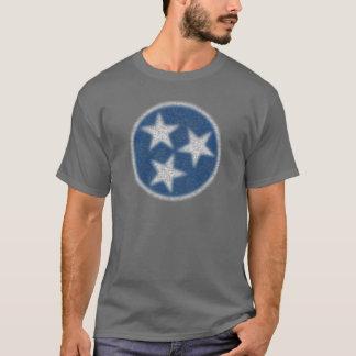 Camiseta Bandeira de Tennessee do vintage