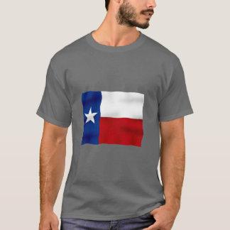 Camiseta Bandeira de Texas - t-shirt escuro básico