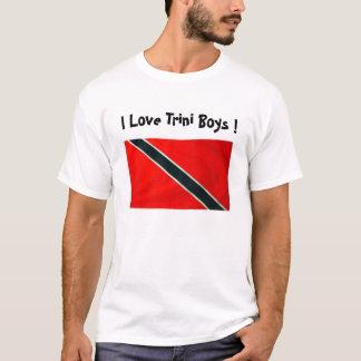 Camiseta BANDEIRA de TRINI, eu amo meninos de Trini!