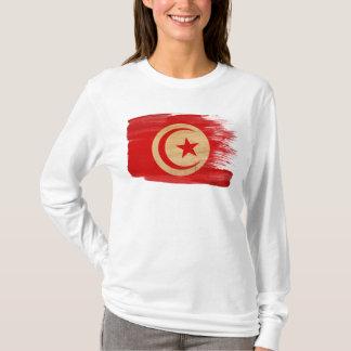 Camiseta Bandeira de Tunísia