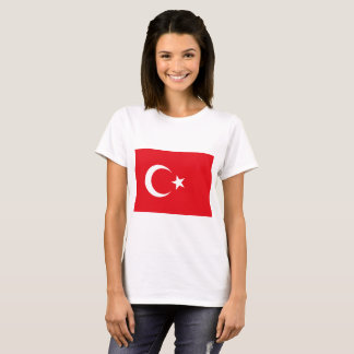 Camiseta Bandeira de Turquia