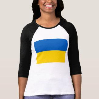Camiseta Bandeira de Ucrânia