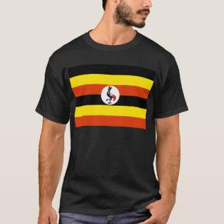 Camiseta Bandeira de Uganda