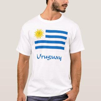 Camiseta Bandeira de Uruguai