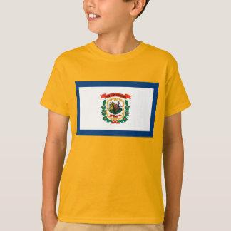 Camiseta Bandeira de West Virginia
