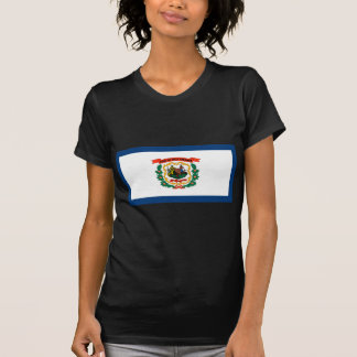 Camiseta Bandeira de West Virginia