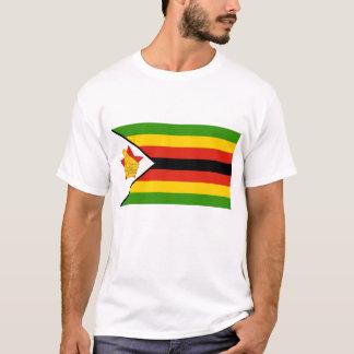 Camiseta Bandeira de Zimbabwe África